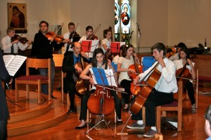 All Strings Attached concert CHS 2009