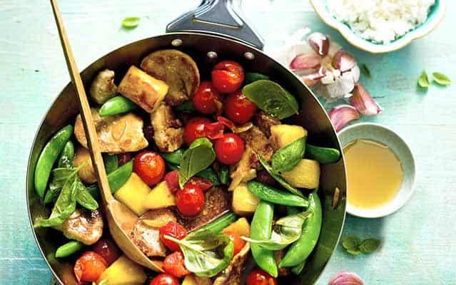 Sweet & Sour Pork Stir Fry