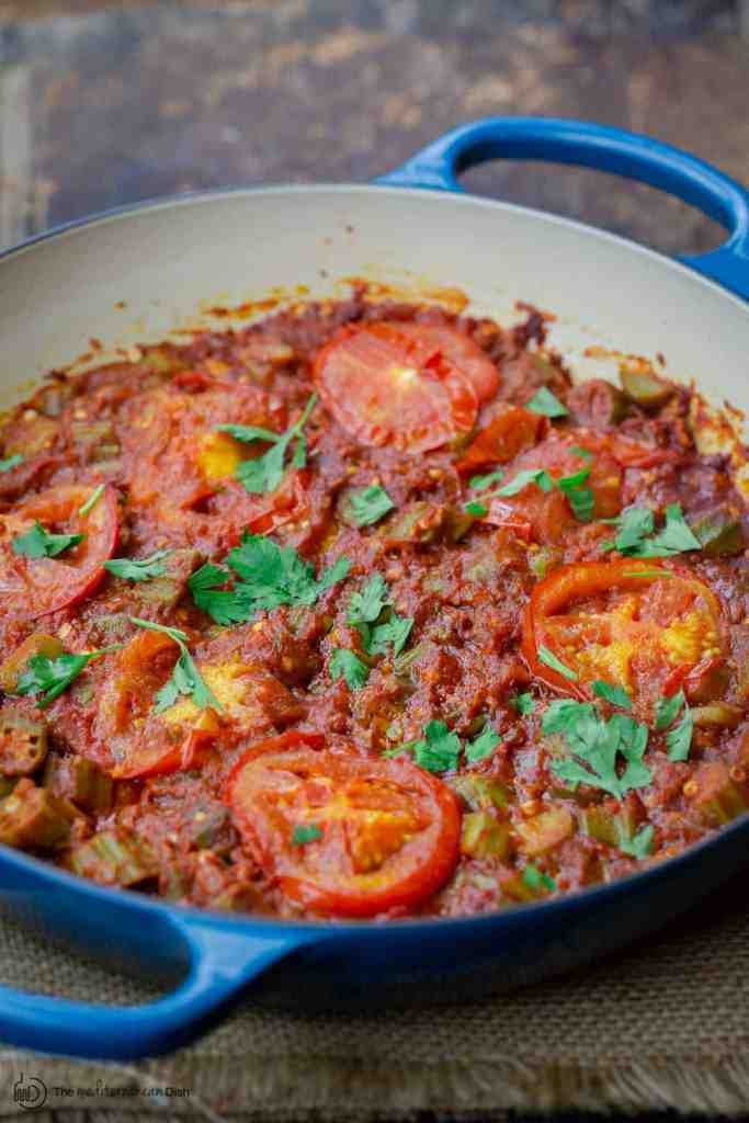 Mediterranean-Style Okra and Tomatoes