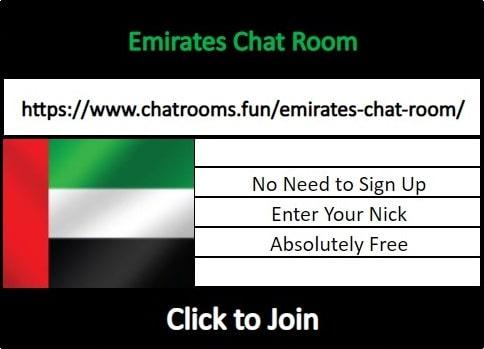 Uae chat room