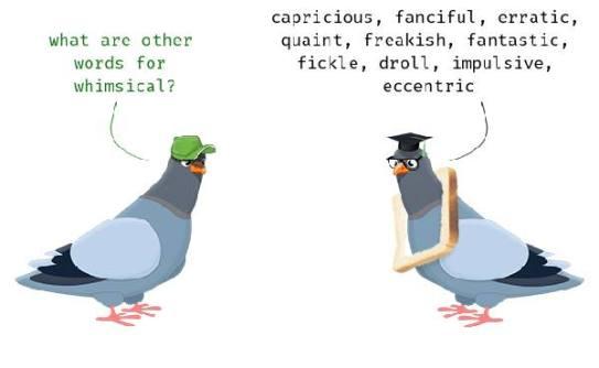 Learn English word whimsical joke