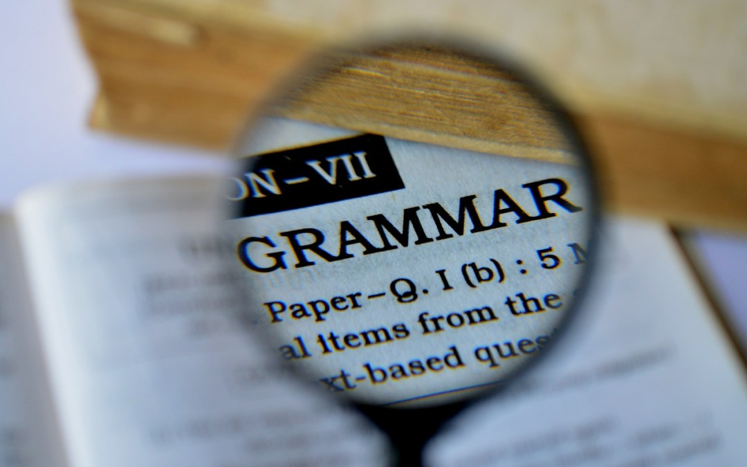 The important role of grammar in learning the English language