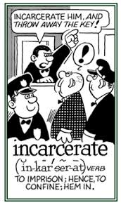 Learn INCARCERATE Meaning Etymology and Synonyms