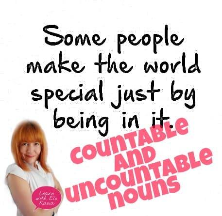 What are countable and uncountable nouns? Definition & Examples