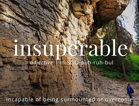 Insuperable Meaning Insuperable Etymology Insuperable Synonyms and definition Chatsifieds