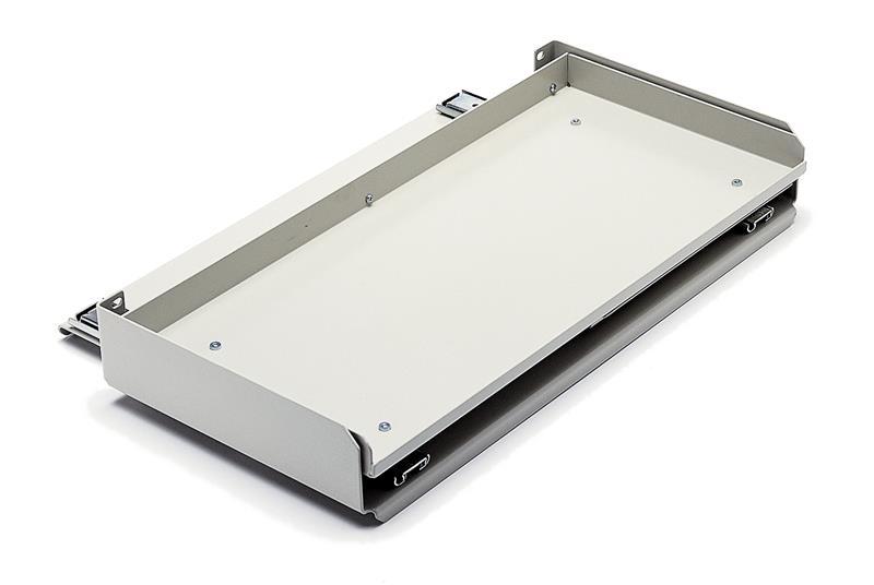 19 full size sliding keyboard tray