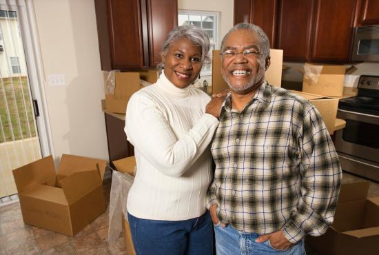 Happy old couple | Chattanooga Home Inspector | Changing addresses