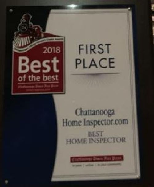 2018 Best of the Best for Chattanooga Home Inspectors