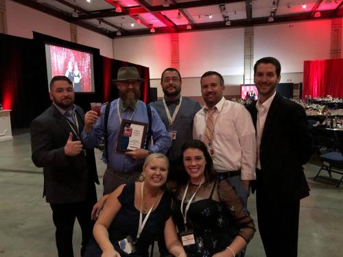 The Chattanooga Home Inspector team receiving the Best of Chattanooga
