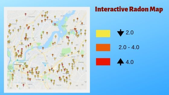 Interactive Radon Map