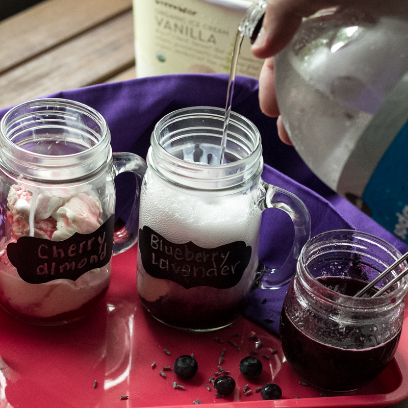 Who knew that National Ice Cream Soda Day was a thing? There's a day for everything...but these ice cream sodas really do deserve their own day. | recipe from Chattavore.com