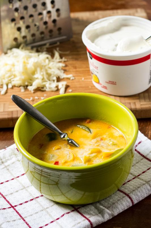 summer squash soup | chattavore