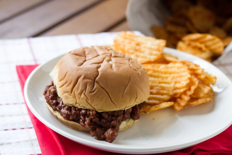 Like everything else that my grandmother ever made, her easy sloppy joes were indeed delicious and they took less than twenty minutes to assemble. | recipe from Chattavore.com