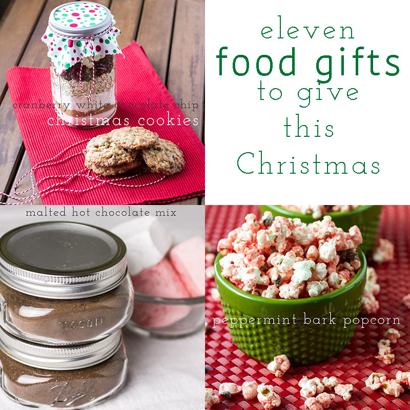 Homemade food gifts are the best...here are eleven of my favorite homemade Christmas gift ideas for you to give this Christmas! | list from Chattavore.com