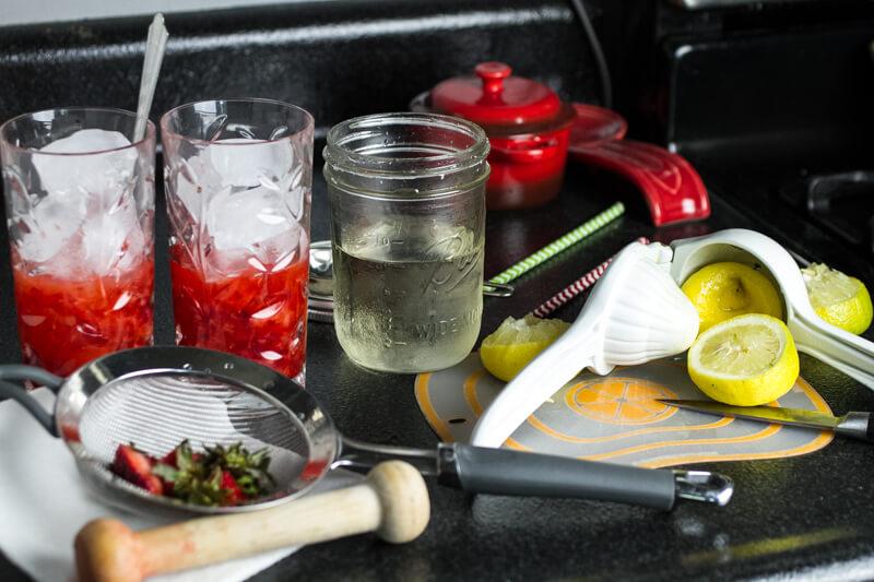 how to make lemonade for one