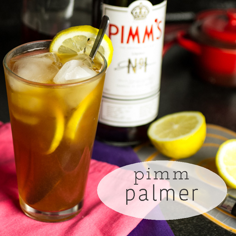 The Pimm Palmer is a delicious cocktail perfect for a warm spring day! | chattavore.com