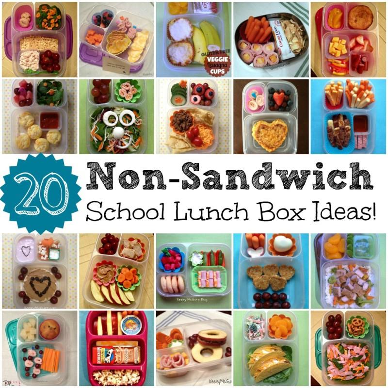 20 Non-Sandwich School Lunch Box Ideas for Kids (Gluten Free & Allergy Friendly)