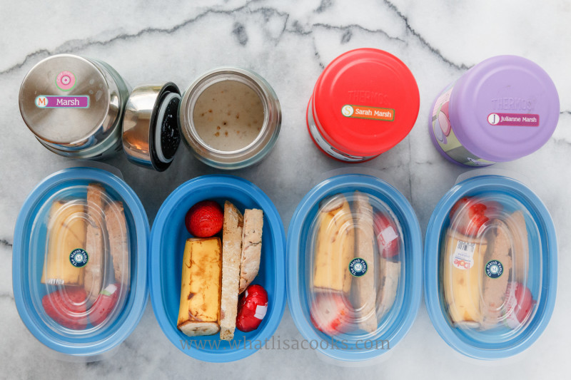 A Full Year of Lunch Packing Ideas from What Lisa Cooks
