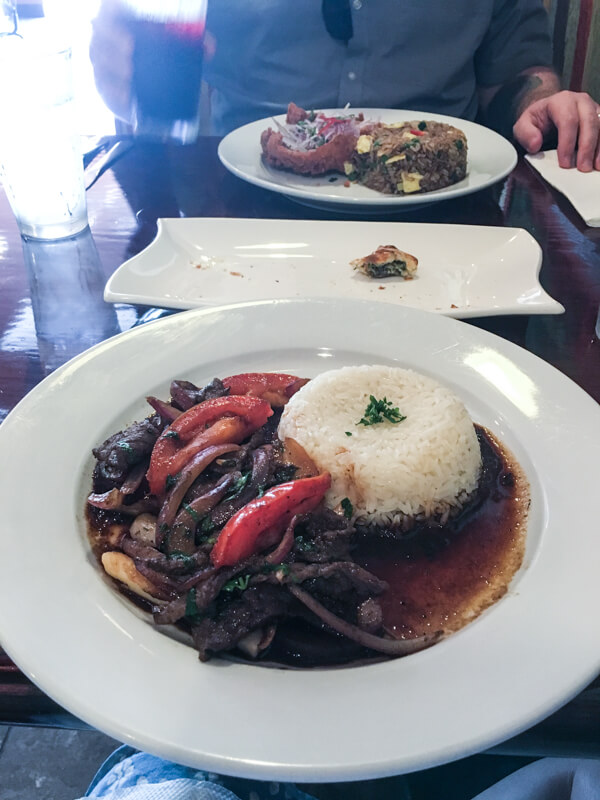 Aji Peruvian restaurant, located in Ooltewah, Tennessee, serves delicious, fresh Peruvian food and beverages with friendly service! | restaurant review from Chattavore.com