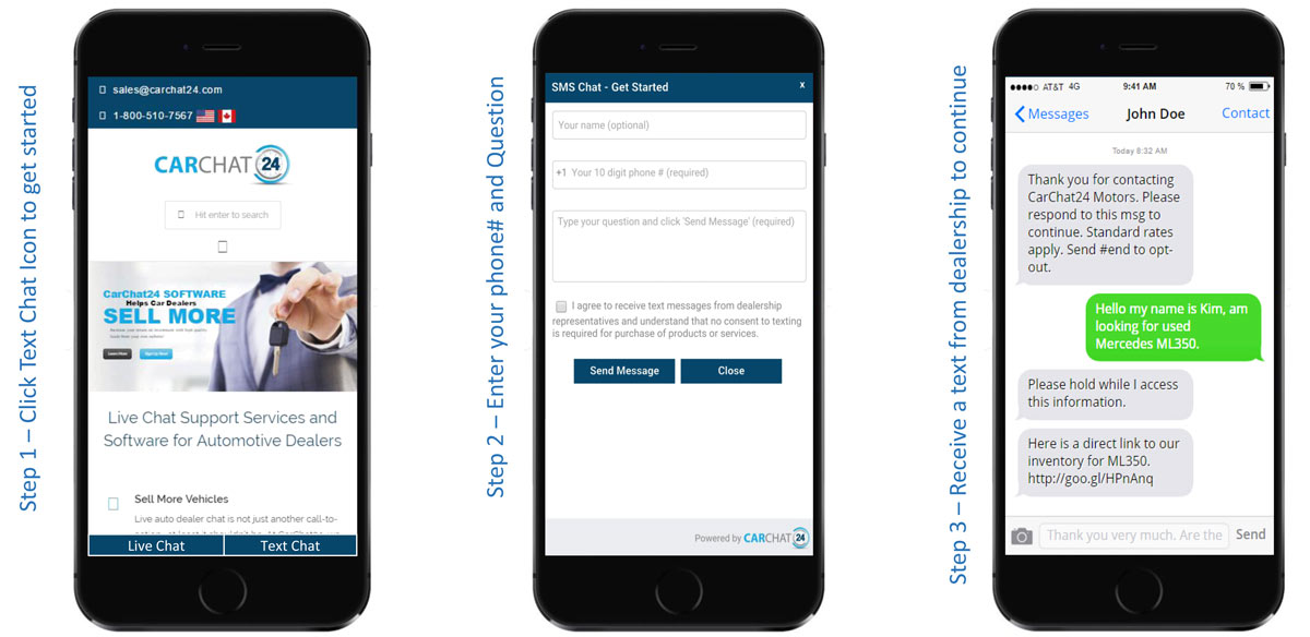 SMS Chat via Text - Engaging with Mobile Web Users is Easier