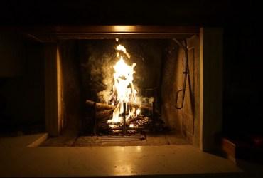 cheminée traditionnelle