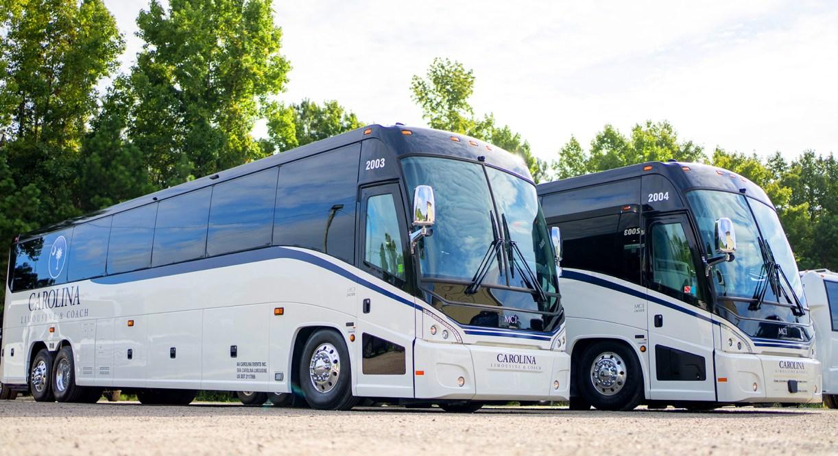 Carolina Limousine & Coach Adds MCI Coaches to Fleet