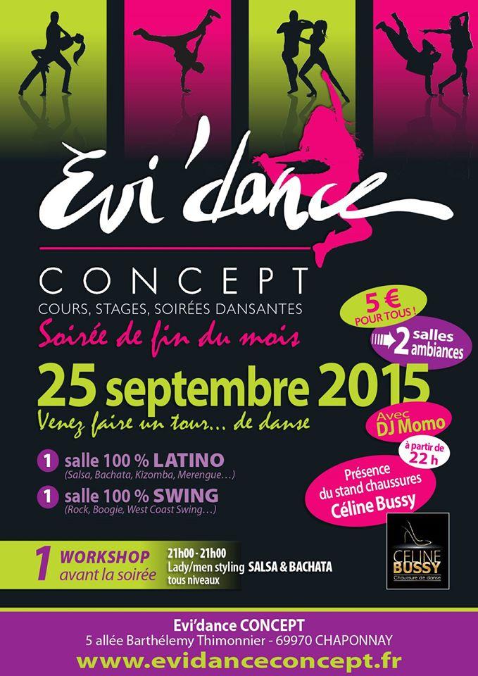 Vente à Evidance chaponnay le vendredi 25 septembre 22h