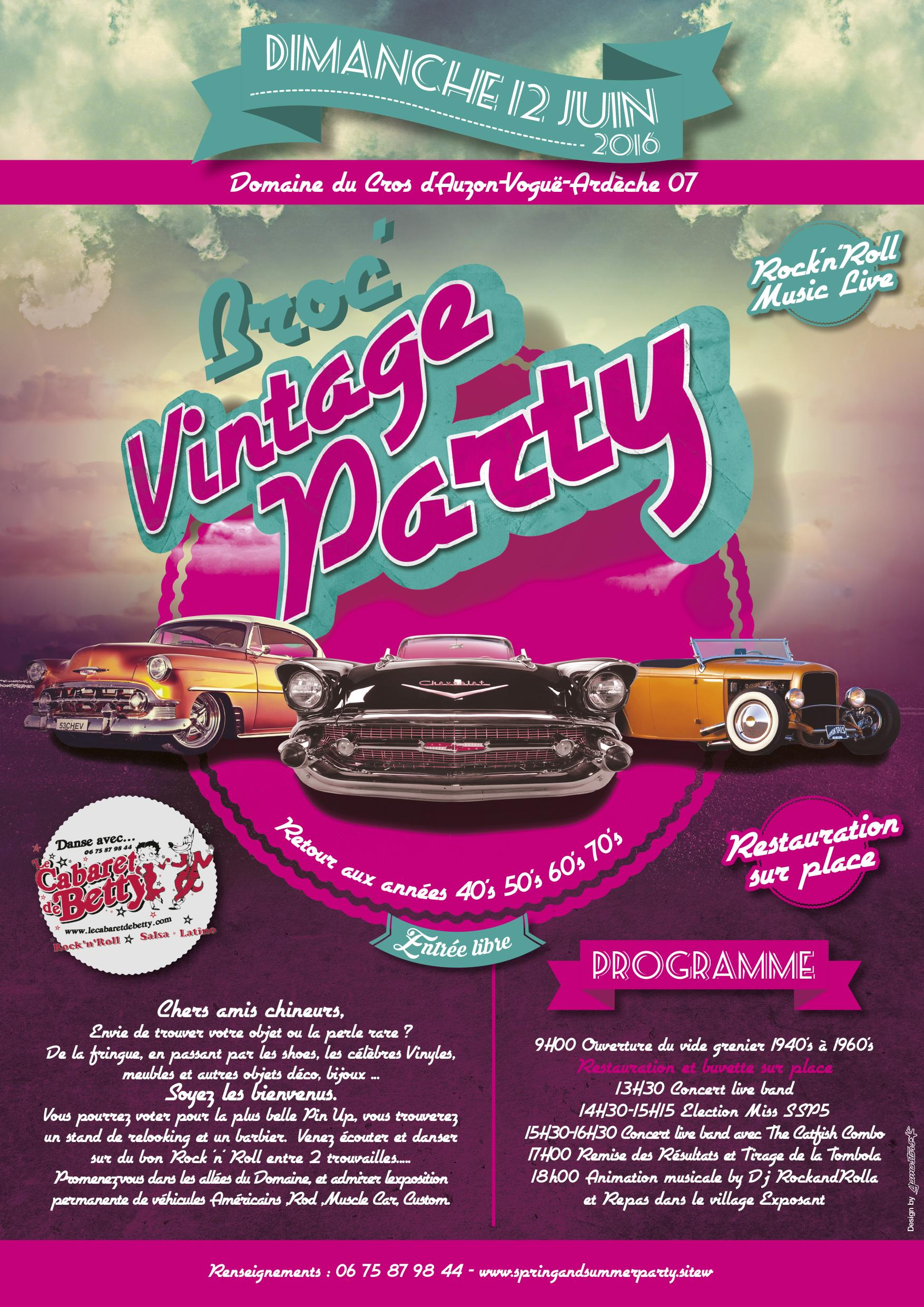 Spring and summer party les 11 et 12 juin