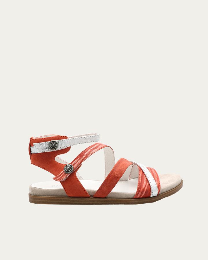 Sandale Baden Rouge