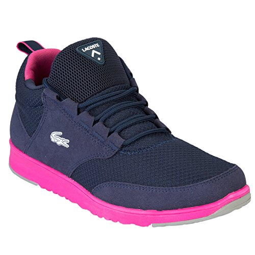 Lacoste Lightbase Shoes - Dark Blue /purple - Bleu - Bleu, * EU