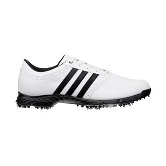 Adidas Mens Golflite 5 WD Golf Shoes (Black/White) 15