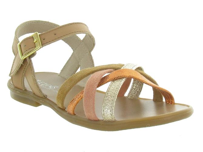 Reqins sandales et nu pieds thelma corail3151606_1