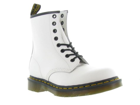 Doc martens bottines et boots 1460 smooth blanc9845502_1
