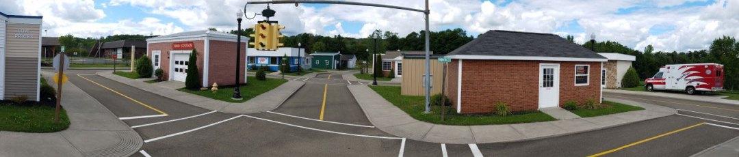 Street view of Chautauqua Safety Village