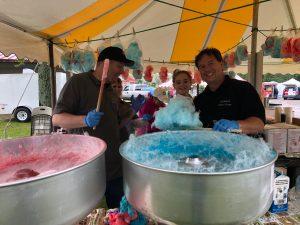 Chautauqua Safety Village staff at fun fair