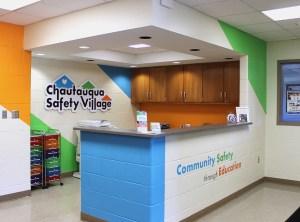 Chautauqua Safety Village lobby