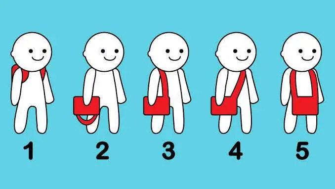Qual destas formas você carrega sua bolsa?