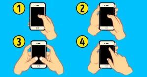 O que seu jeito de segurar o celular diz sobre sua personalidade