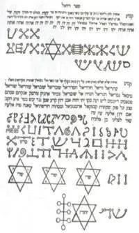 Símbolos Enoquianos - A Língua dos Anjos