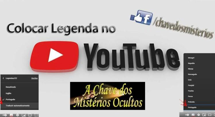 Como ativar legendas traduzidas no YouTube.