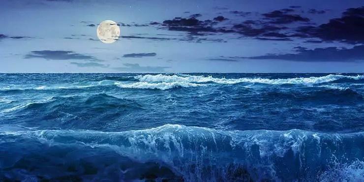 O efeito catastrófico da Lua