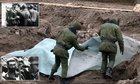 Mass grave containing 1,000 executed Jewish men, women and children is uncovered at WWII ghetto