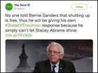 "Is this anti-semitic? ""Someone tell Bernie it's free to shut up."" Or is this a jab at the socialist label."