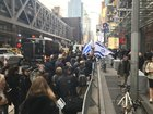 """""""Protest Erupts Outside New York Times Offices Over Anti-Semitic Cartoon"""""""