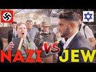 Nazi Destroyed By Proud Jew | Rudy Rochman