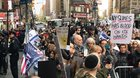 WATCH: Hundreds Protest Outside The NY Times After Anti-Semitic Cartoons; Hikind, Dershowitz Deliver Speeches