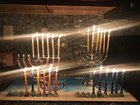 Happy 5th night of Hanukkah. Slowly Becoming More of a Fire Hazard.