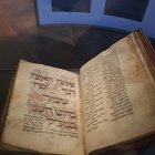 The Amsterdam Machzor, 1240 AD, originally from Cologne. Fully conserved, save for one page.