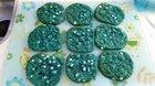 Blue cookies for Yom Ha'atzmaut