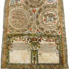 Jewish marriage contract (Ketubah). 1830, Rhodes (Greece) [2170 x 3000]